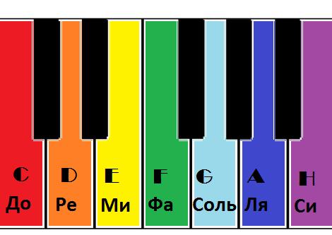 Учим ноты вместе