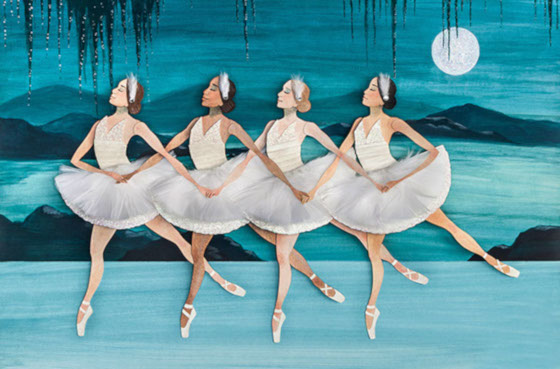 танец маленьких лебедей из Лебединого озера
