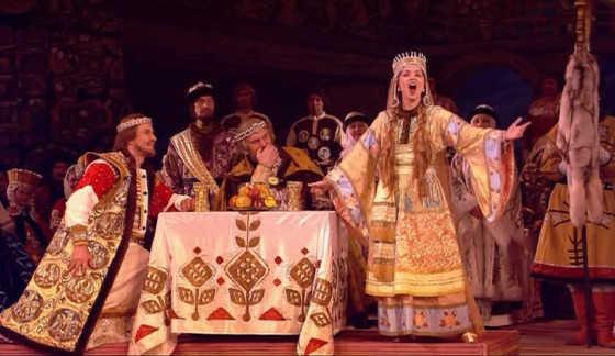 Опера руслан и людмила глинка доклад 1358
