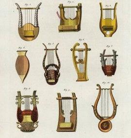 Древнегреческий инструмент лира